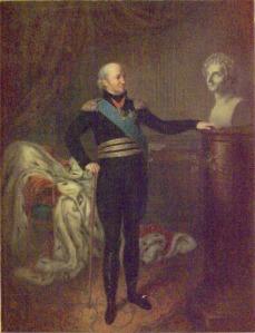 Karl XIII med byst