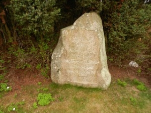 Lützov stenen