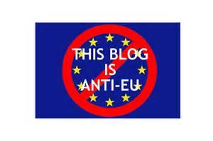 Anti EU blogg