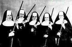 Beväpnade nunnor