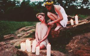 Hedniska damer wicca