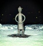 Oden staty foto