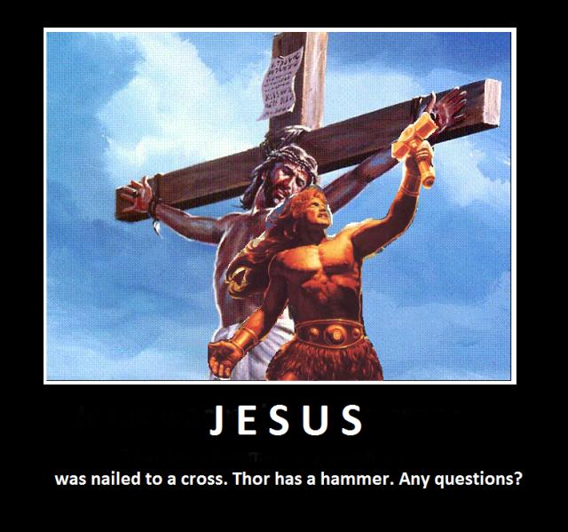 Jesus och Tor