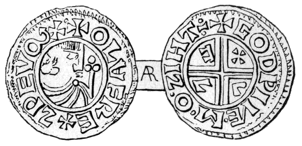 Olof skötkonungs mynt