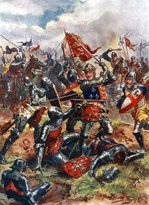 Henrik V vid Azincourt