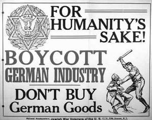 judar hetsar mot krig
