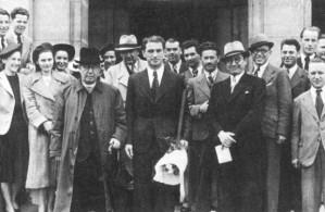 Presidenten och delar av regeringen
