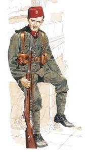 Kroatisk soldat med muslimskt ursprung