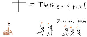 The religion of fire