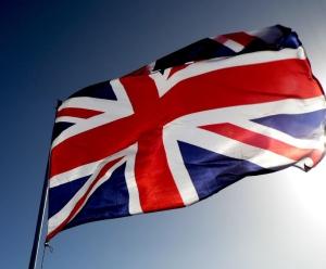 brittiska flaggan