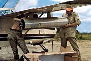 biafra lastning av vapen