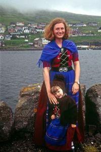 Mor och dotter från Färörarna