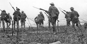 Somme britterna anfaller första juli