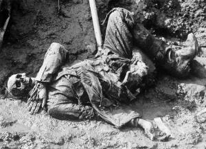 Somme en död tysk