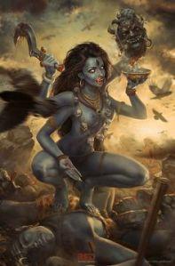 Kali hindu goddess