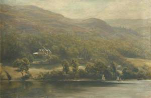 Collingwood, William Gershom; Brantwood from the Lake; The Brantwood Trust; http://www.artuk.org/artworks/brantwood-from-the-lake-142998