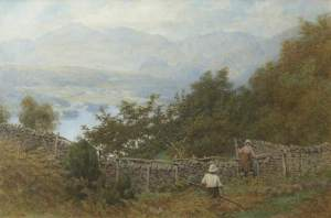 Collingwood, William Gershom; Professor Ruskin's Orchard; The Brantwood Trust; http://www.artuk.org/artworks/professor-ruskins-orchard-143000