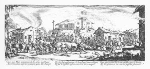 callot-krigets-elande-7-forstorelsen-och-brannandet-av-en-by