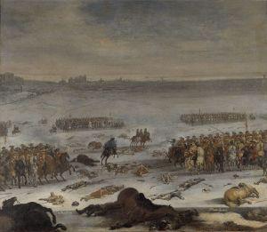 karl-xi-med-sitt-folje-rider-igenom-danskarnas-linjer
