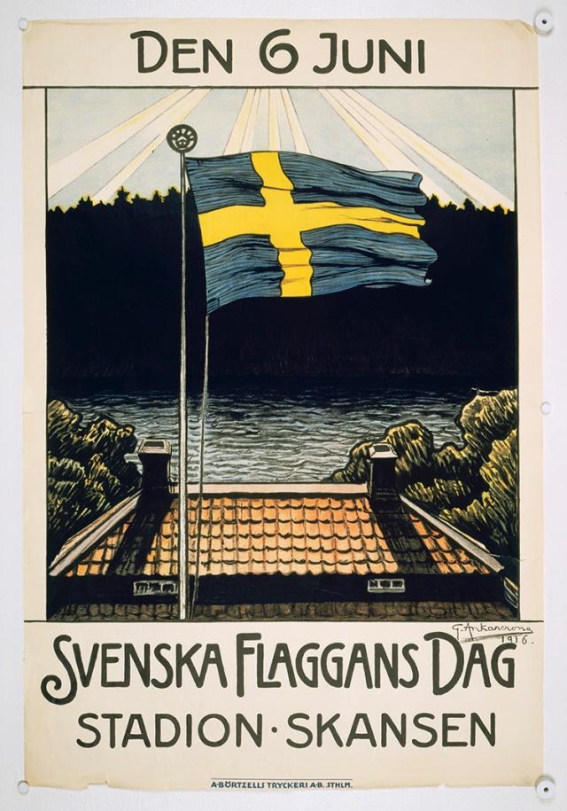 svenska-flaggans-dag-1916
