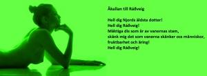Åkallan till Ráðveig
