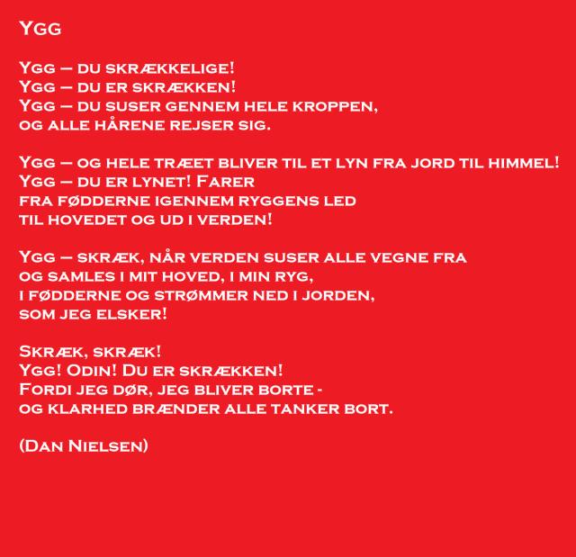 Ygg dansk digt